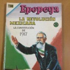 BDs: EPOPEYA N º 140. EDITORIAL NOVARO, 1970. LA REVOLUCION MEXICANA Nº 3.. Lote 231261760