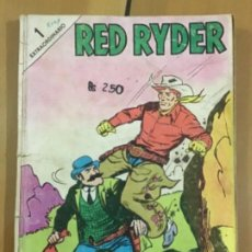 Tebeos: RED RYDER N º 1 EXTRAORDINARIO. EDITORIAL NOVARO. RARISIMO EJEMPLAR. Lote 231262150