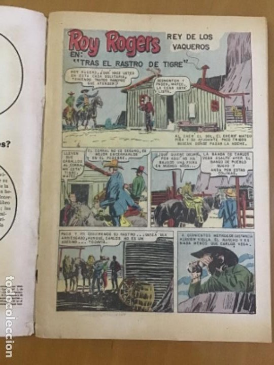 Tebeos: ROY ROGERS, nº 175. EDITORIAL NOVARO,1967. - Foto 2 - 231262315