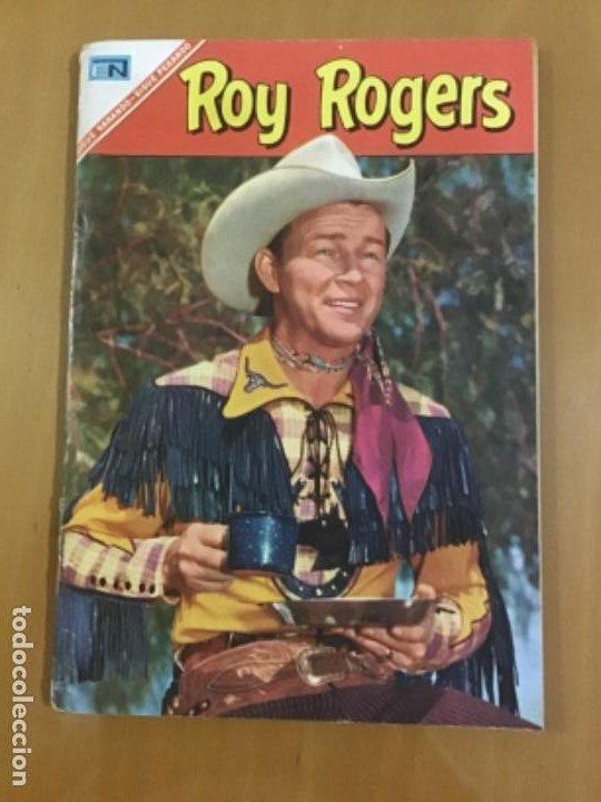 ROY ROGERS, Nº 175. EDITORIAL NOVARO,1967. (Tebeos y Comics - Novaro - Roy Roger)