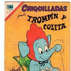 BDs: CHIQUILLADAS. TROMPIN Y COLITA. Nº 314. NOVARO. 29 DE OCTUBRE DE 1971. Lote 231318775