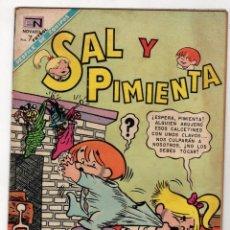 BDs: SAL Y PIMIENTA. Nº 48. 1 DE DICIEMBRE DE 1968. NOVARO. Lote 231320150