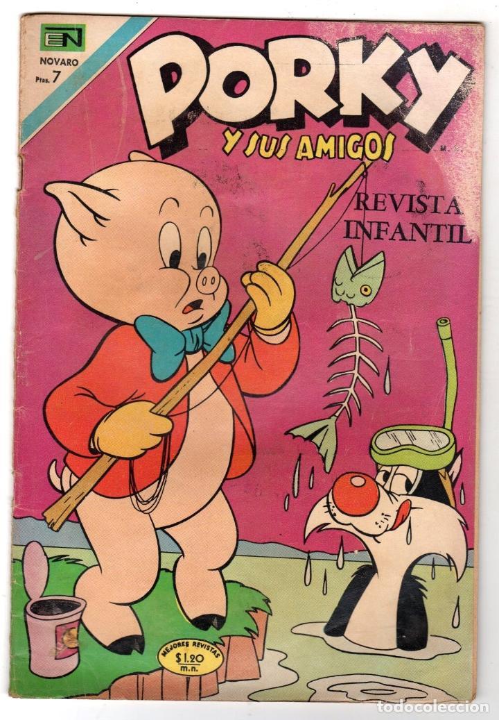 PORKY Y SUS AMIGOS. Nº 248. 9 DE NOVIEMBRE DE 1970. NOVARO (Tebeos y Comics - Novaro - Porky)