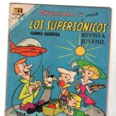 BDs: CHIQUILLADAS. LOS SUPERSONICOS. Nº 225. 15 DE FEBRERO DE 1968. NOVARO. Lote 231321450