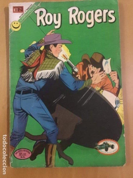 ROY ROGERS, Nº 274. EDITORIAL NOVARO,1972. (Tebeos y Comics - Novaro - Roy Roger)