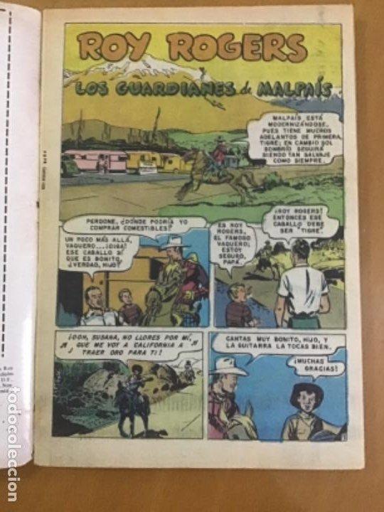 Tebeos: ROY ROGERS, nº 2 - 484. EDITORIAL NOVARO- SERIE AGUILA.1981. - Foto 2 - 231419440