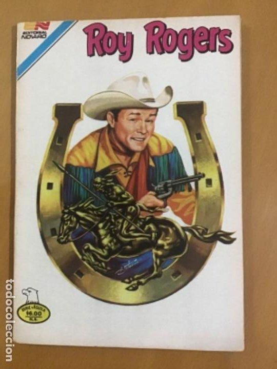 ROY ROGERS, Nº 2 - 484. EDITORIAL NOVARO- SERIE AGUILA.1981. (Tebeos y Comics - Novaro - Roy Roger)