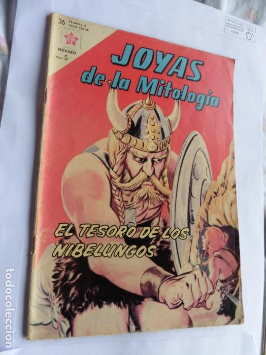 JOYAS DE LA MITOLOGIA Nº 7 NAVARO ORIGINAL (Tebeos y Comics - Novaro - Otros)