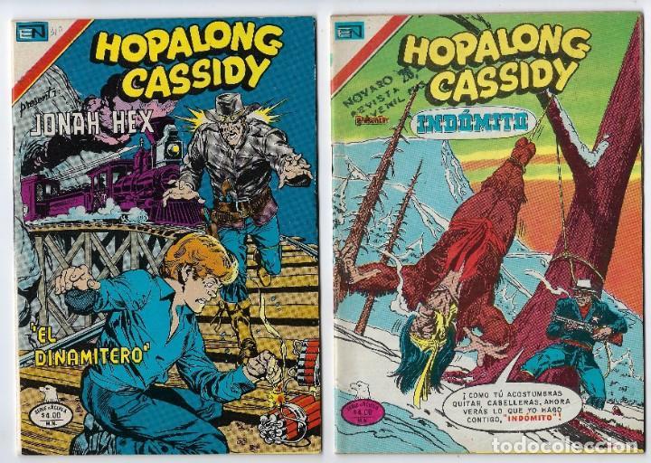 HOPALONG CASSIDY - SERIE ÁGUILA - DOS EJEMPLARES - NROS: 296 Y 310 *** EDITORIAL NOVARO *** (Tebeos y Comics - Novaro - Hopalong Cassidy)