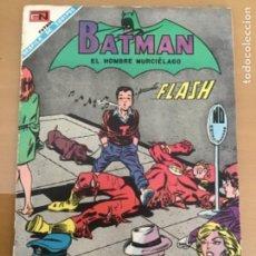 Tebeos: BATMAN, Nº 444. NOVARO, 1968. BATMAN- AQUI YACE FLASH MUERTE E INSEPULTO.. Lote 231528195