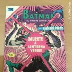 Tebeos: BATMAN, Nº 515. NOVARO, 1970. MUERTE A LINTERNA VERDE.. Lote 231530060