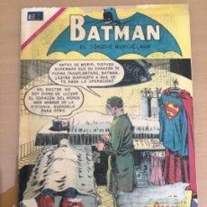 Tebeos: BATMAN, Nº 543. NOVARO, 1970. BATMAN - SUPERMAN Y BATMAN - EL CORAZON DE SUPERMAN. Lote 231541650