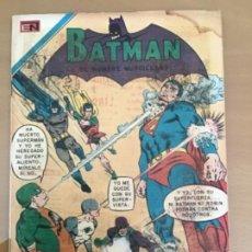Tebeos: BATMAN, Nº 549. NOVARO, 1970. SUPERMAN Y BATAMA - LA VENGANZA FINAL DE LUTHOR. Lote 231544375