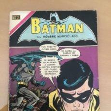Tebeos: BATMAN, Nº 554. NOVARO, 1970. BATMAN - LA CAJA DE CAUDALES. Lote 231545445