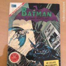 Tebeos: BATMAN, Nº 579 NOVARO, 1971. BATMAN - SE BUSCA POR HOMICIDIO A BATMAN. Lote 231566555