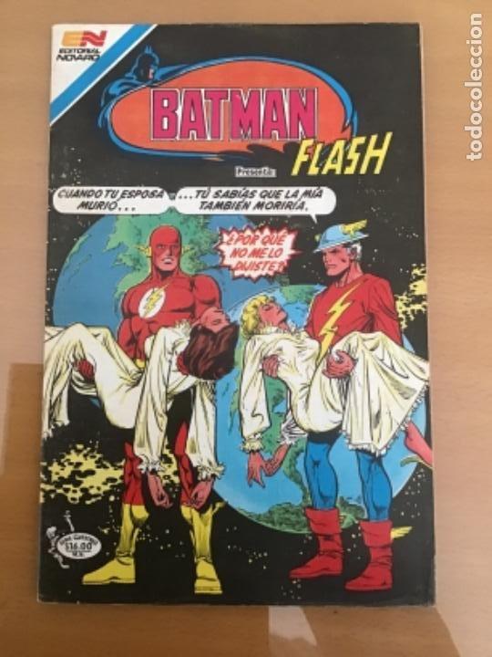 BATMAN, Nº 3 - 52. EDITORIAL NOVARO - SERIE AVESTRUZ, 1983. FLASH - NUEVO EQUIPO DOBLE (Tebeos y Comics - Novaro - Batman)