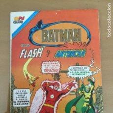 Tebeos: BATMAN, Nº 3 - 46. EDITORIAL NOVARO - SERIE AVESTRUZ, 1983. FLASH - EL HOMBRE MAS VELOZ MORTAL. Lote 231611550