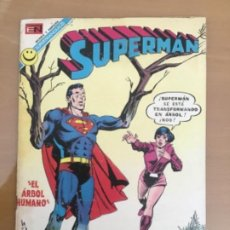 Giornalini: SUPERMAN, Nº 876. EDITORIAL NOVARO, 1972. LUISA LANE - EL ARBOL HUMANO. Lote 231671440