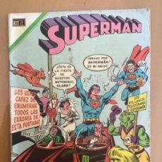 Tebeos: SUPERMAN, Nº 822. EDITORIAL NOVARO, 1971. UN MUNDO DISPARATADO. Lote 231720450