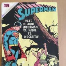 Tebeos: SUPERMAN, Nº 797. EDITORIAL NOVARO, 1971. ¡ VETE DE AQUI SUPERMAN YA NADIE TE NECESITA¡. Lote 231723170