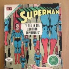 Tebeos: SUPERMAN, Nº 805. EDITORIAL NOVARO, 1971. EL DIA EN QUE LLOVIERON SUPERMANES. Lote 231726420