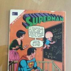 Tebeos: SUPERMAN, Nº 807. EDITORIAL NOVARO, 1971. EL MALEANTE MAS PEQUEÑO DEL MUNDO. Lote 231726880