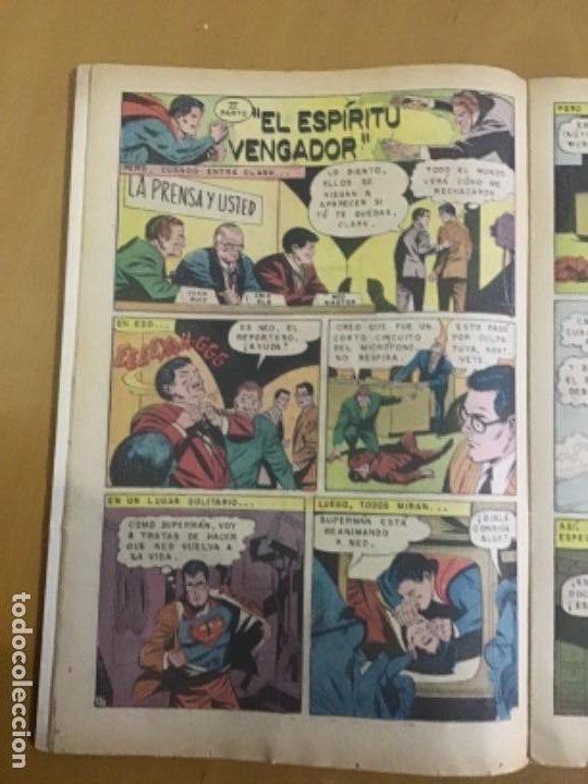 Tebeos: SUPERMAN, nº 781. EDITORIAL NOVARO, 1970. EL ESPIRITU VENGADOR - Foto 2 - 231788515