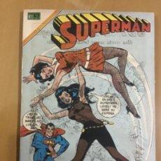 Tebeos: SUPERMAN, Nº 782. EDITORIAL NOVARO, 1970. LA PAREJA IDEAL: SUPERMAN Y MARVILA. Lote 231788570