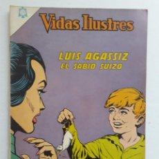 Tebeos: VIDAS ILUSTRES Nº 125 - LUIS AGASSIZ - ORIGINAL EDITORIAL NOVARO. Lote 231833415