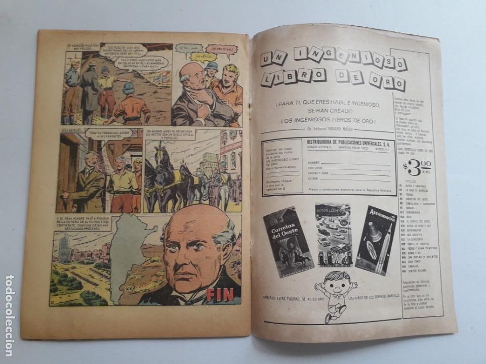 Tebeos: Vidas ilustres nº 122 - Sarmiento patriota y educador - original editorial Novaro - Foto 3 - 231834630