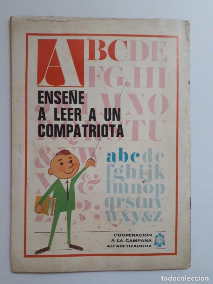 Tebeos: Vidas ilustres nº 122 - Sarmiento patriota y educador - original editorial Novaro - Foto 4 - 231834630