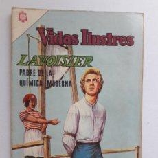 Tebeos: VIDAS ILUSTRES Nº 119 - LAVOISIER, PADRE DE LA QUÍMICA MODERNA - ORIGINAL EDITORIAL NOVARO. Lote 231835210