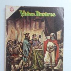 Livros de Banda Desenhada: VIDAS ILUSTRES Nº 117 - EL CID CAMPEADOR - ORIGINAL EDITORIAL NOVARO. Lote 231835500