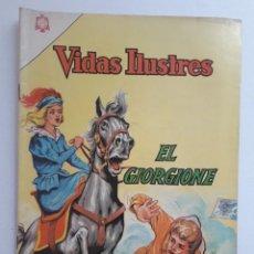 Tebeos: VIDAS ILUSTRES Nº 114 - EL GIORGIONE - ORIGINAL EDITORIAL NOVARO. Lote 231836265