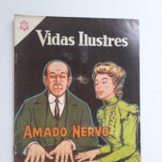 Tebeos: VIDAS ILUSTRES Nº 106 - AMADO NERVO - ORIGINAL EDITORIAL NOVARO. Lote 231837105