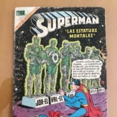 Tebeos: SUPERMAN, Nº 701. EDITORIAL NOVARO, 1969. LAS ESTATUAS MORTALES. Lote 231840340