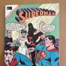 Tebeos: SUPERMAN, Nº 699. EDITORIAL NOVARO, 1969. LA ESPOSA DE TITANMAN. Lote 231842000