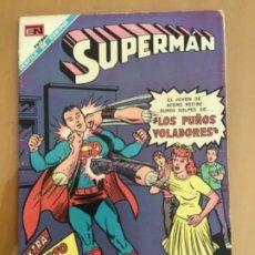 Tebeos: SUPERMAN, Nº 675. EDITORIAL NOVARO, 1969. LOS PUÑOS VOLADORES. Lote 231843775