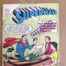 Tebeos: SUPERMAN, Nº 440. EDITORIAL NOVARO, 1964. LA INCREIBLE CONFESION DE SUPERPEDRO WHITE. Lote 231847385