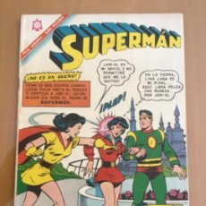 Tebeos: SUPERMAN, Nº 570. EDITORIAL NOVARO, 1966.. Lote 231849515