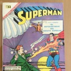 BDs: SUPERMAN, Nº 601. EDITORIAL NOVARO, 1967. EL SUPERESTUCHE DEL AGENTE ESPECIAL. Lote 231862520