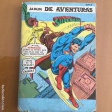 Tebeos: SUPERMAN. EDITORIAL NOVARO. ALBUM DE AVENTURAS, Nº 3. SERIE AGUILA NUMEROS 1152, 1153, 1188, 1195.. Lote 231885365