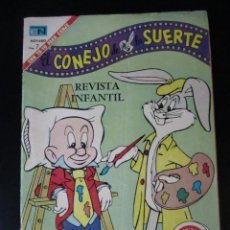 Tebeos: BUGS BUNNY (1950, SEA / NOVARO) -EL CONEJO DE LA SUERTE- 360 · 15-VI-1965 · EL CONEJO DE LA SUERTE. Lote 231901115