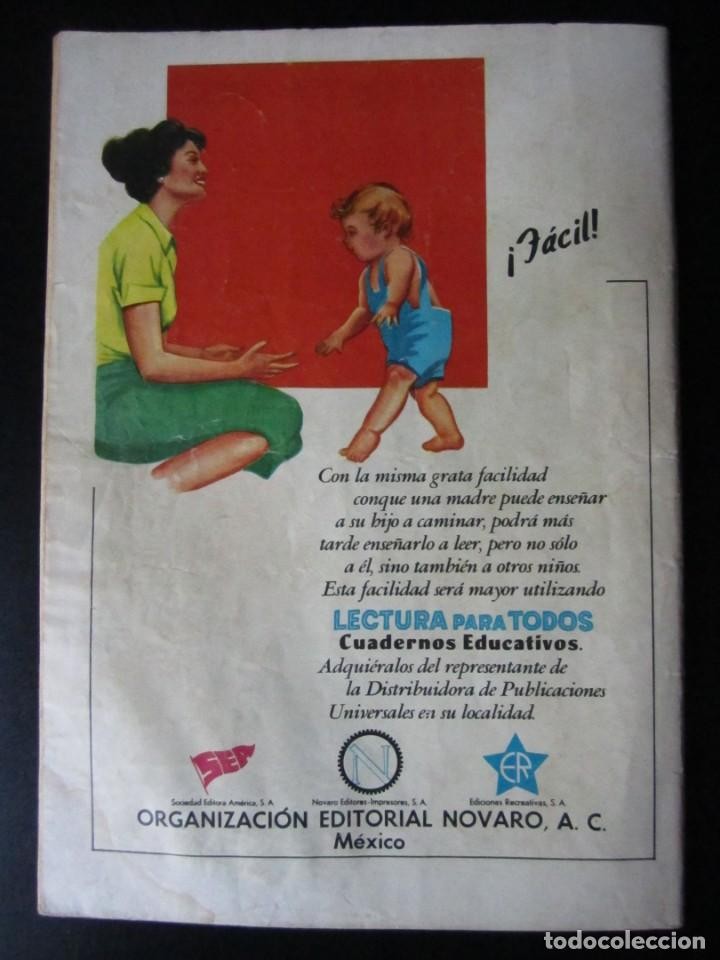 Tebeos: LLANERO SOLITARIO, EL (1953, EMSA / SEA / NOVARO) 81 · XII-1959 · EL LLANERO SOLITARIO - Foto 2 - 231941920
