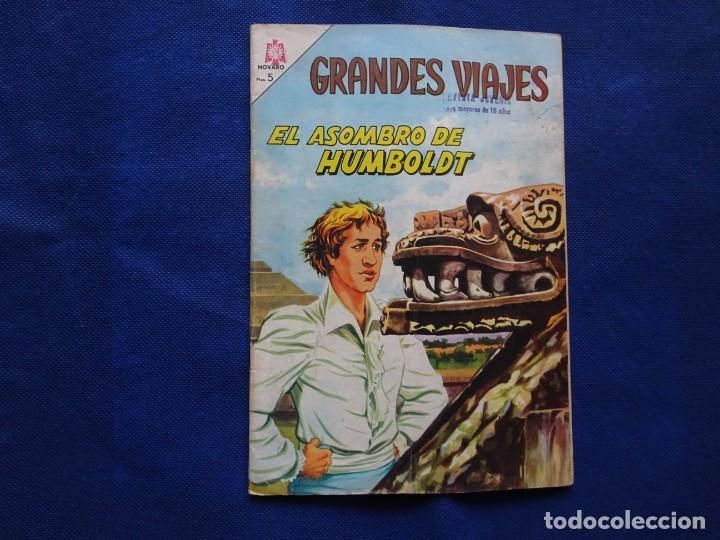 GRANDES VIAJES - 24 - EL ASOMBRO DE HUMBOLDT - NOVARO (Tebeos y Comics - Novaro - Grandes Viajes)