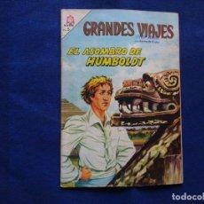 Tebeos: GRANDES VIAJES - 24 - EL ASOMBRO DE HUMBOLDT - NOVARO. Lote 232021425