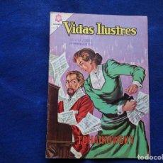 Livros de Banda Desenhada: VIDAS ILUSTRES - 109 - TCHAIKOWSKY - NOVARO. Lote 232036775