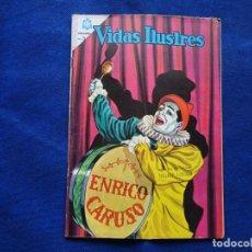Livros de Banda Desenhada: VIDAS ILUSTRES - 111 - ENRICO CARUSO - NOVARO. Lote 232037170