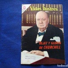 Livros de Banda Desenhada: VIDAS ILUSTRES - 113 - VEJEZ Y GLORIA DE CHURCHILL - NOVARO. Lote 232037550