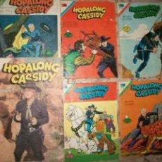 Livros de Banda Desenhada: NOVARO HOPALONG CASSIDY LOTE DE 6 NUMEROS DIFERENTES. Lote 232472805